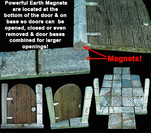 Magnetic Doors