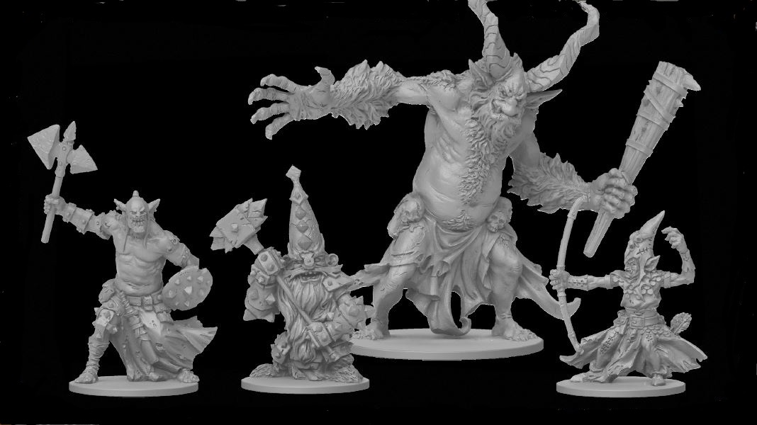 Monsters Miniatures