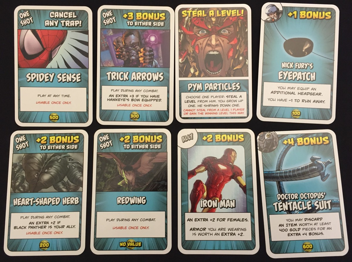 Treasure Cards
