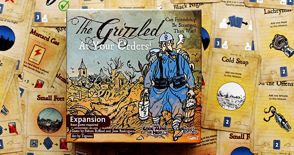 the grizzled how to play