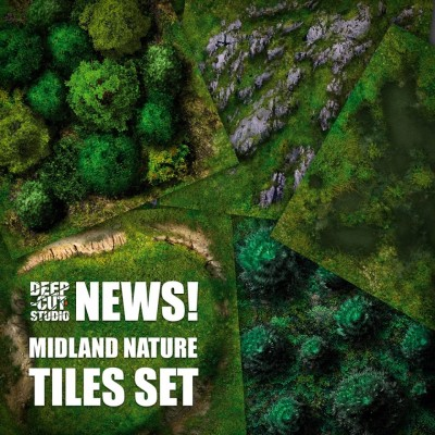 Midland Nature Tiles Set