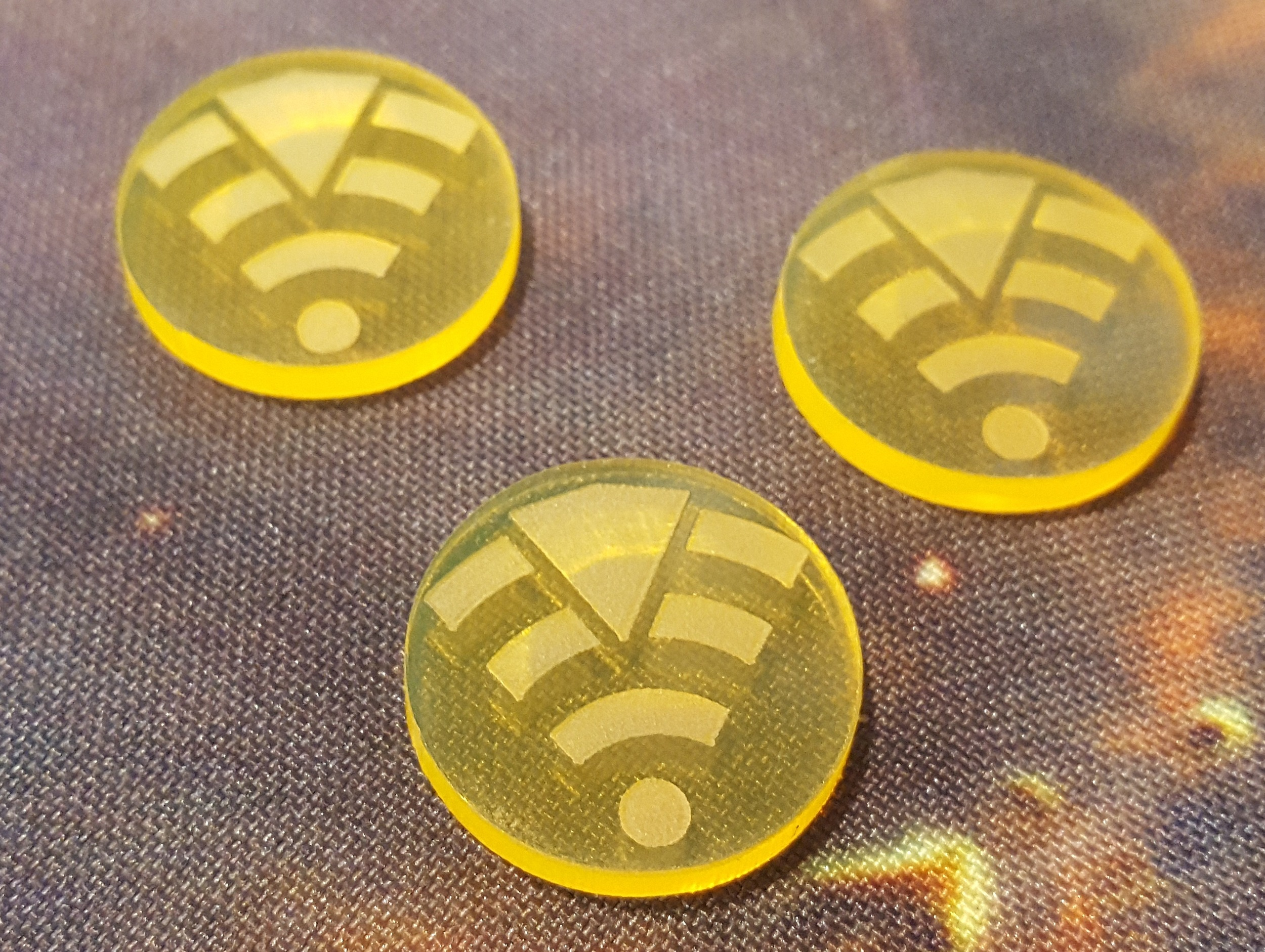Tractor Beam Tokens