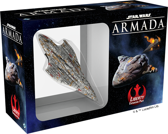Fantasy Flight Games Previews The Liberty for Star Wars Armada