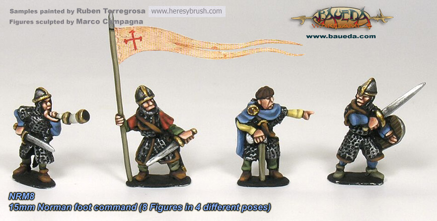 15mm XI-XII C. Norman foot command