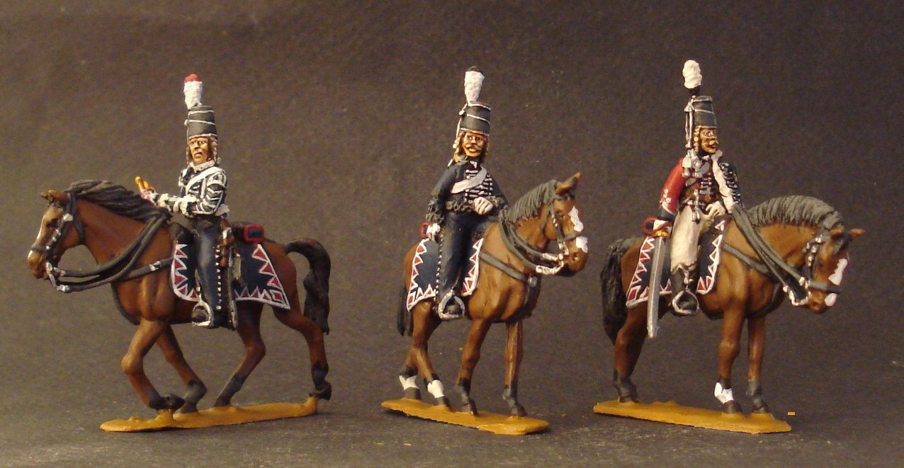 1806 Prussian Hussar Command in Reserve