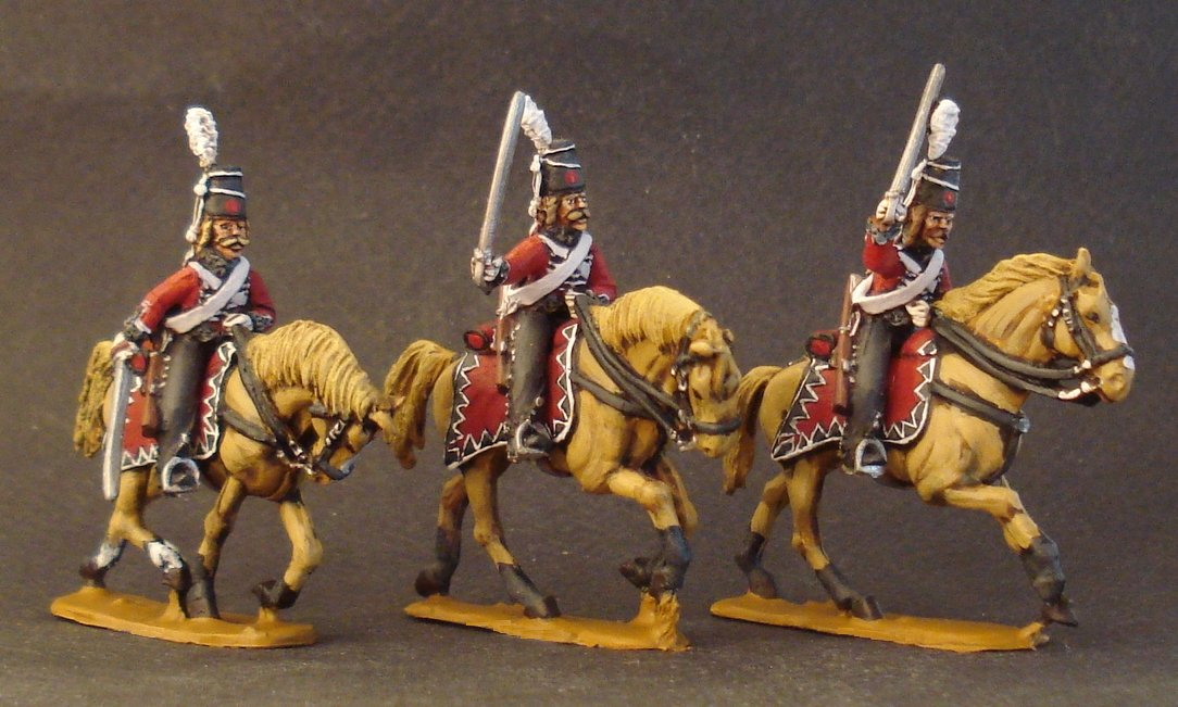 1806 Prussian Hussars Charging