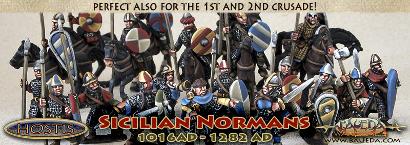 BAUEDA new 15mm XI-XII C. Sicilian Normans range