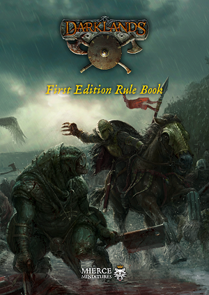 Darklands First Edition Hardback Rule Book
