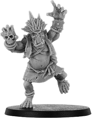 Queefus Bone Orc Shaman on Foot
