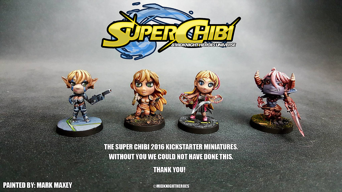 Super Chibi Pledge Miniatures