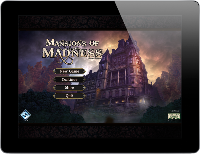 Fantasy Flight Games Previews The App For Mansions of Madness 2nd Edition