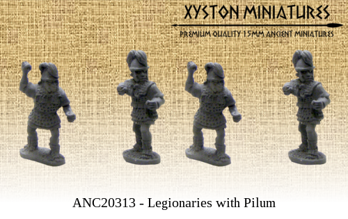 ANC20313 – Legionaries with Pilum