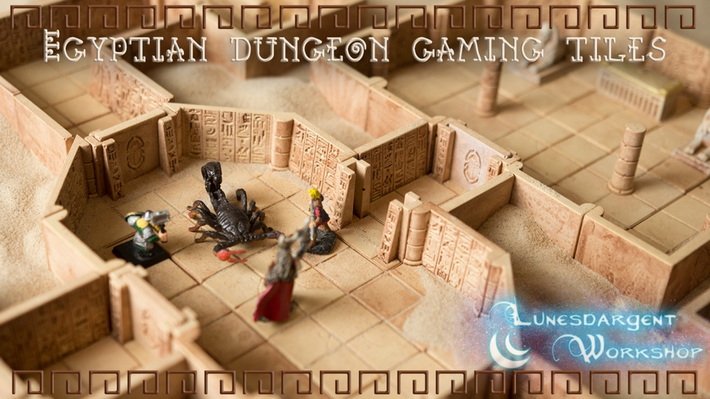 Egyptian Dungeon Tiles