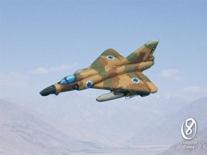 IS-625 IAI Nesher-Dagger (8 pcs) Israeli version of the Mirage 5 fighter