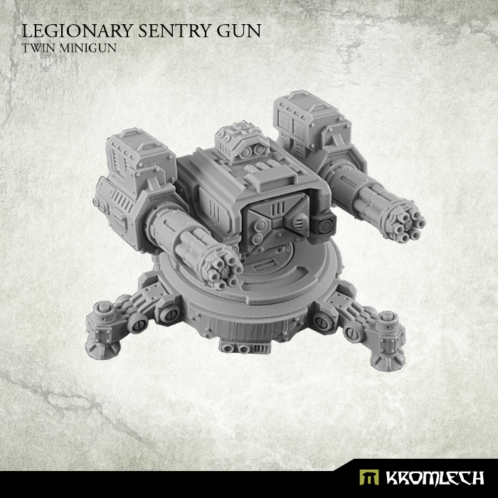 KRM092 sentry gun minigun resin
