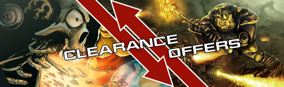 Mantic Clearance Sale
