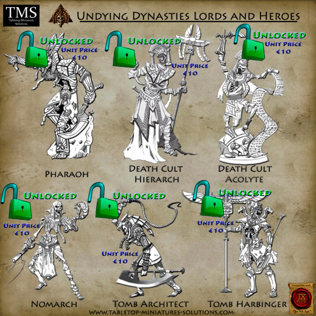 New Lords and Heroes