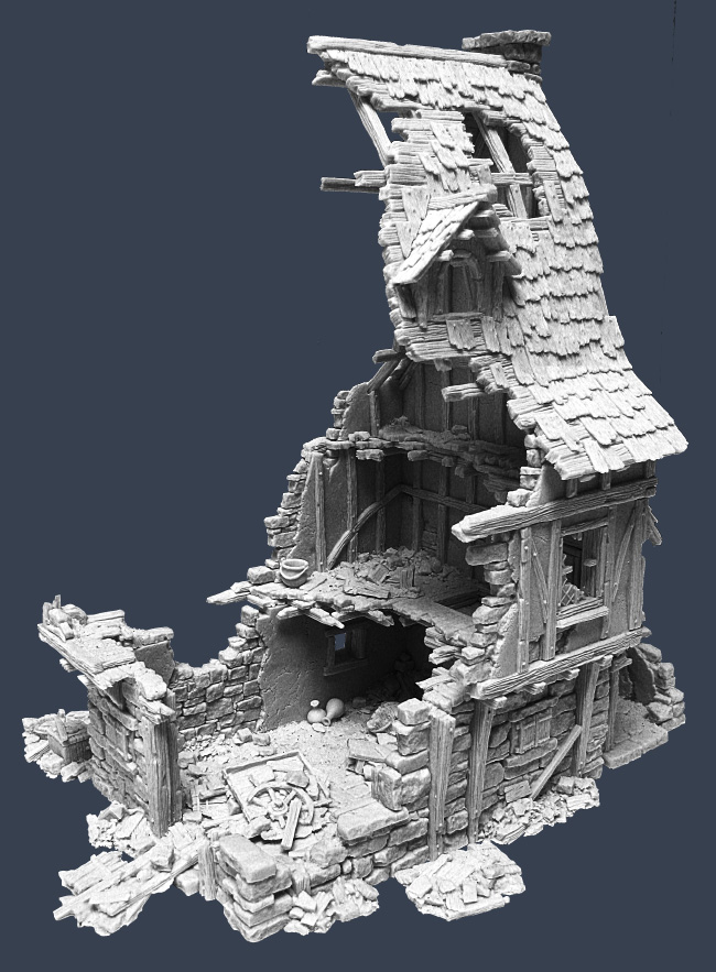 Ruined Townhouse 1
