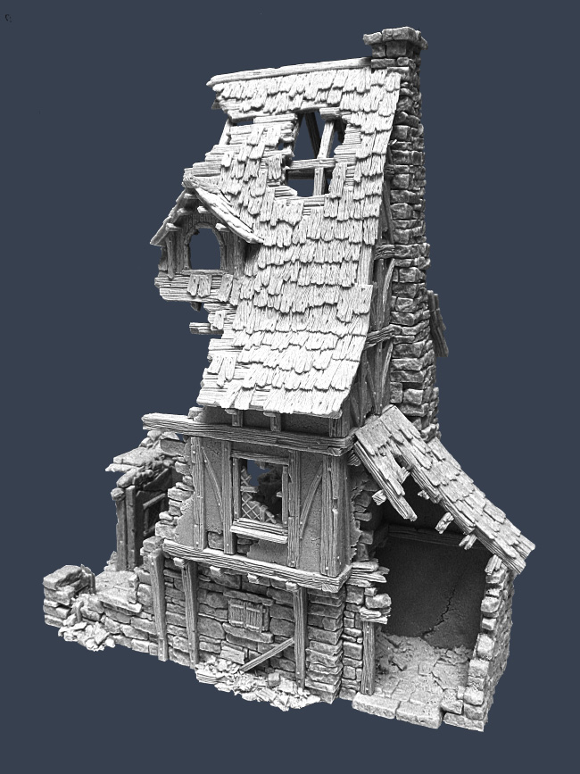 Ruined Townhouse 3