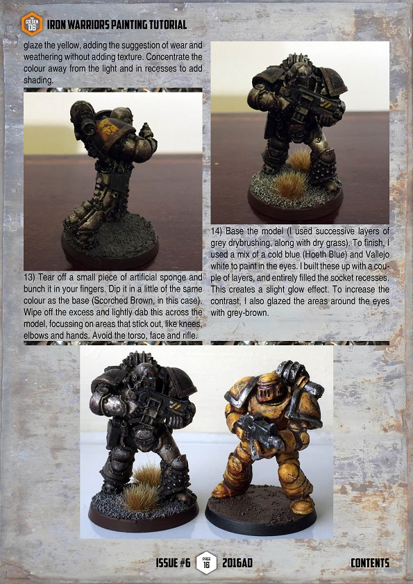 iron warriors painting guide