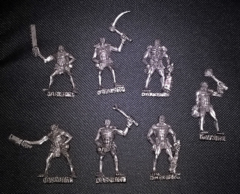 metal ghouls set