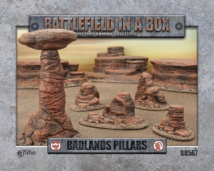 badlands-pillars