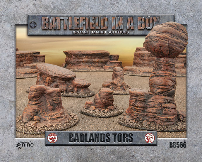 badlands-tors
