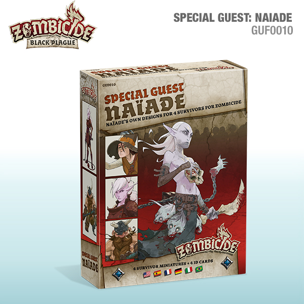 New Releases Available For Zombicide Black Plague