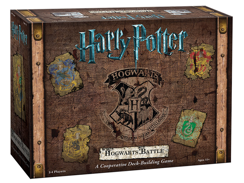 Harry Potter Deck Building Game Now Available