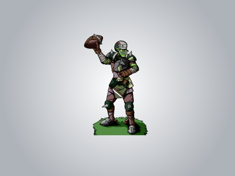 032-orc-fantasy-football-player
