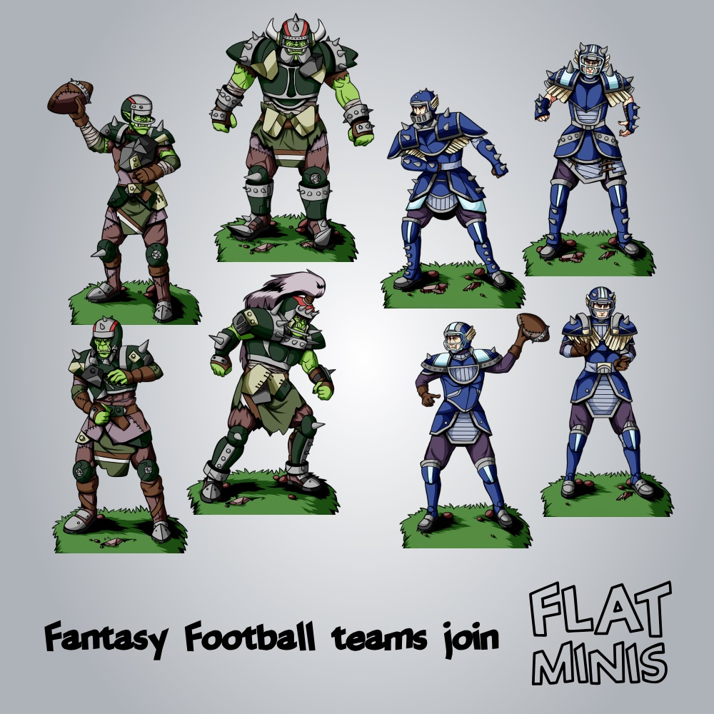 fantasy-football-human-and-orc-teams