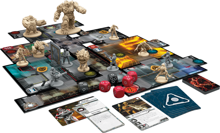 Fantasy flight games previews missions from doom the - Dungeon gioco da tavolo ...