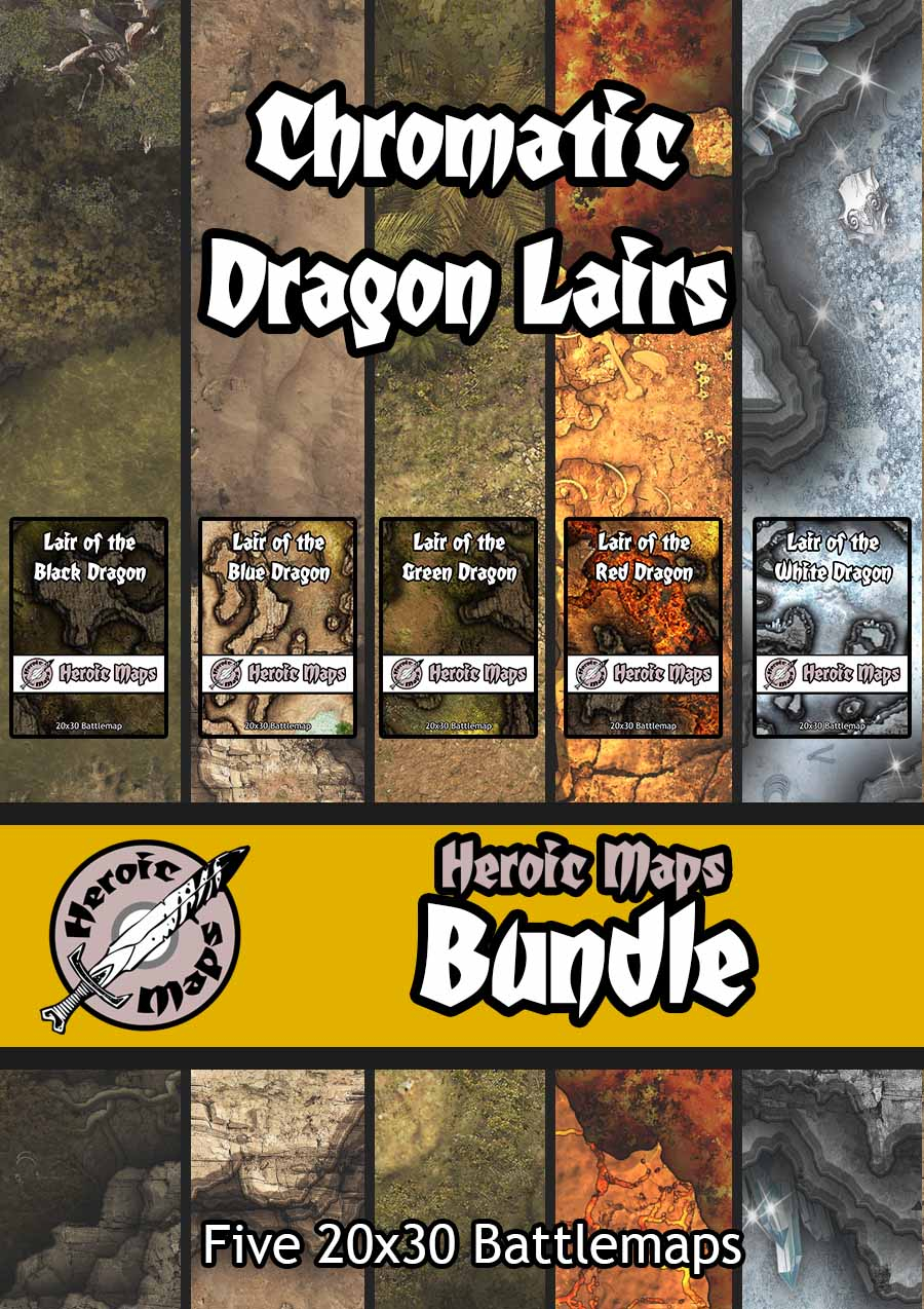 Chromatic Dragon Lairs