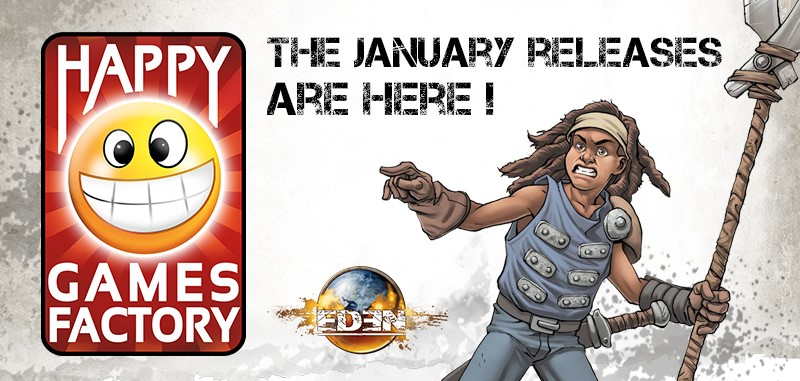 January Releases Banner