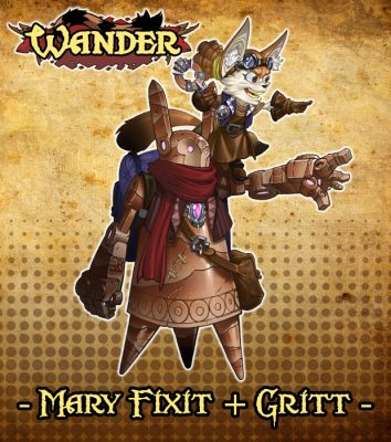 Kickstarter Design Pics_Mary Fixit and GRITT