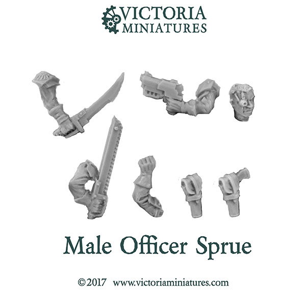 Male Officer sprue
