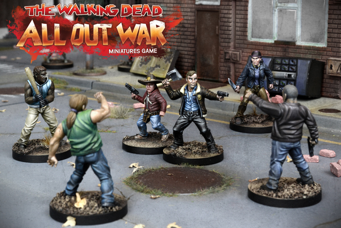 Mantic Games Launches The Walking Dead All Out War Painting Competition Tabletop Gaming News Tgn