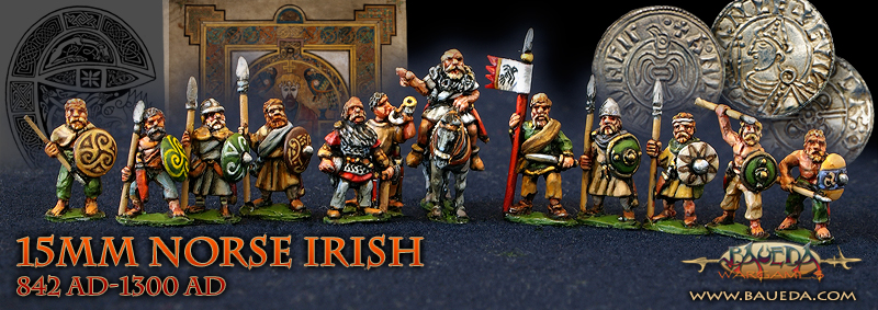 15mm NORSE IRISH 642-1300 AD