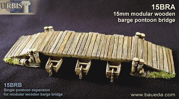 15mm modular barge bridge set 1