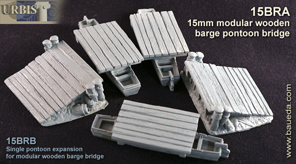 15mm modular barge bridge set 2
