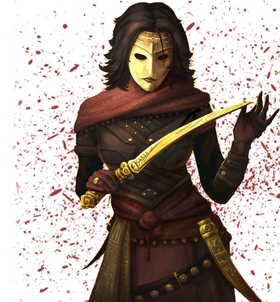 Blood Mage of the Ramal Nations