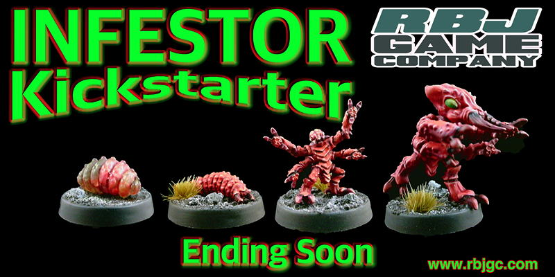 Current Kickstarter Alien Enemy of S.T.A.R. Troopers