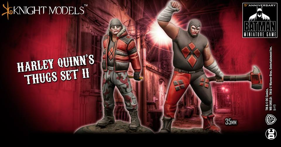 Harley Quinn's Thugs Set 2