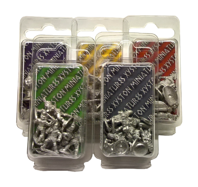 New Xyston Miniatures blisters – check your FLGS