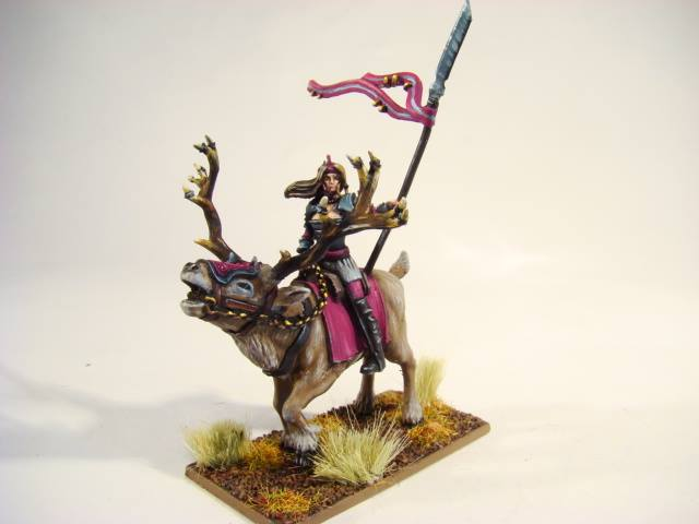 Princess Nave Khra - first of the Stagriders