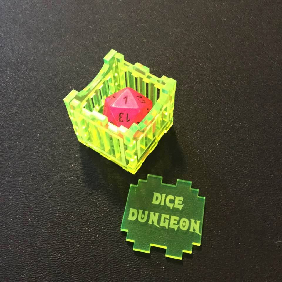 Put your dice in place with this cage