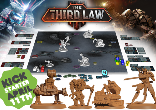 The Third Law Kickstarter April 11th