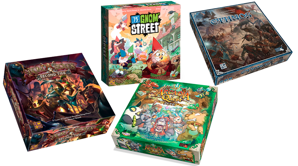 April Releases Available From CMON