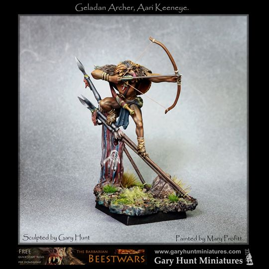 Geladan Archer painted by Mary Profitt