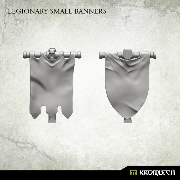 KRCB174 Legionary Small Banners 3d1